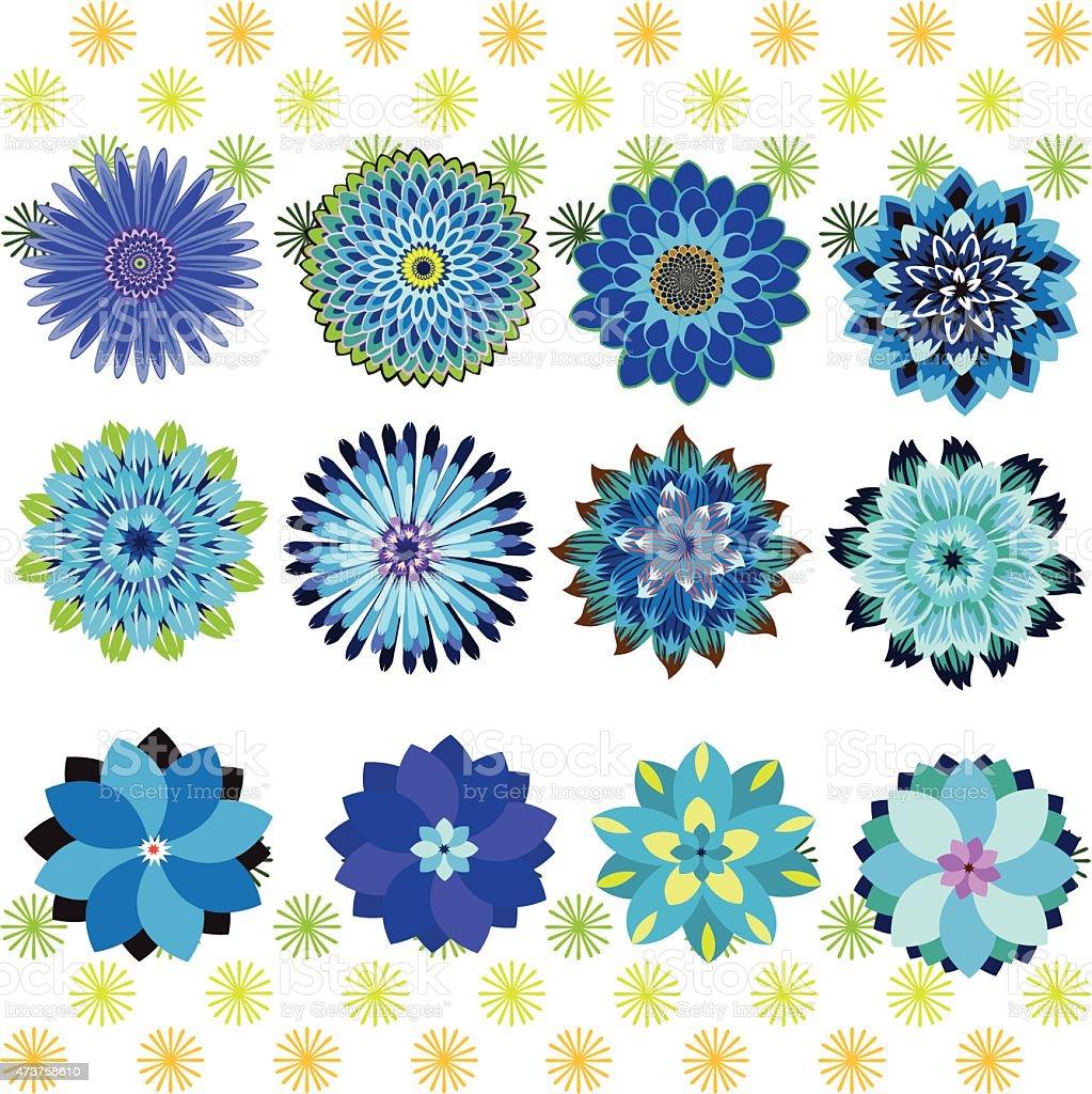 Petali di fiori che cade illustrazione royalty-free