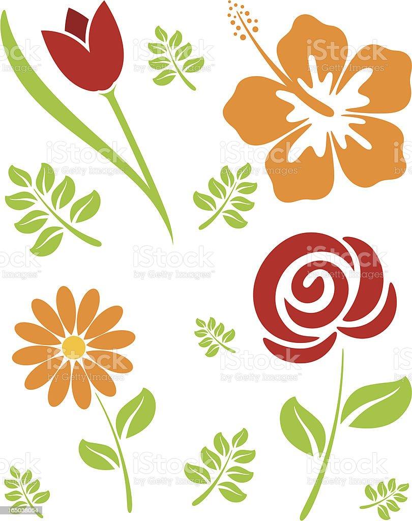 Flower Power - incl. jpeg vector art illustration