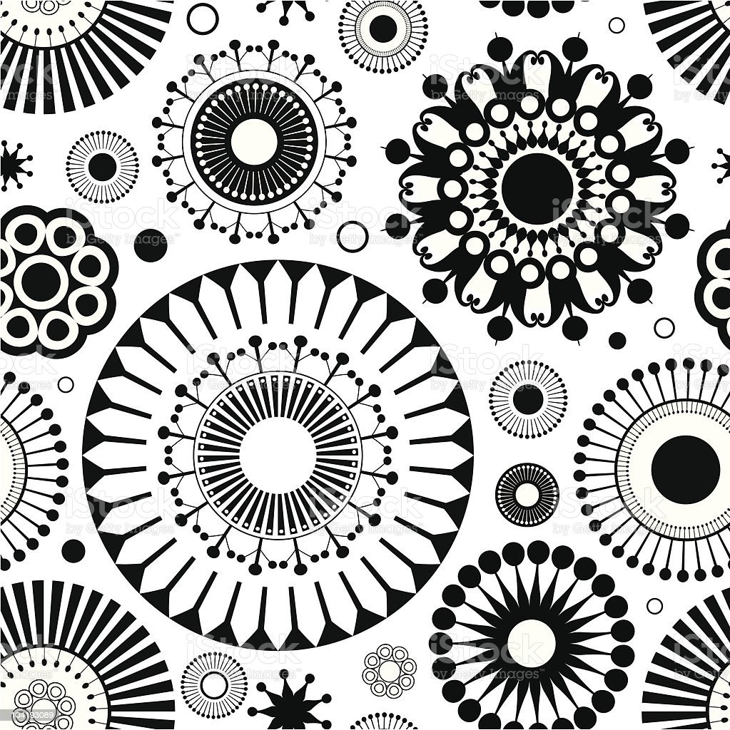 flower seamless royalty-free stock vector art