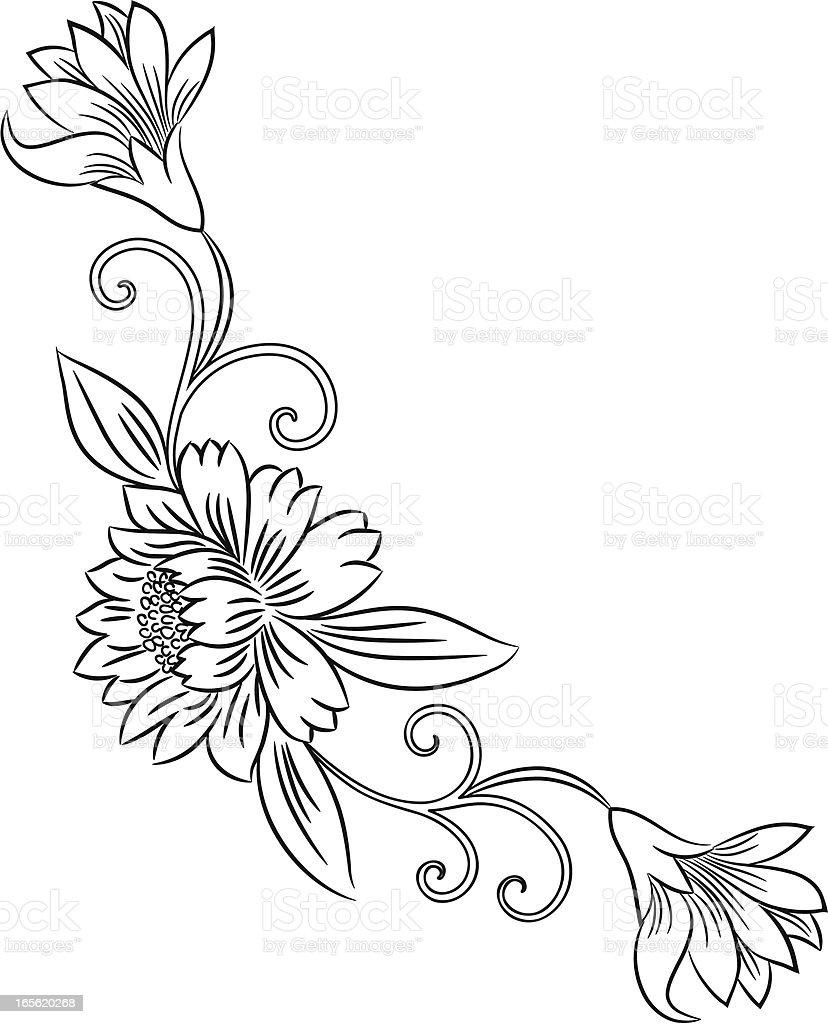 Flower . royalty-free stock vector art