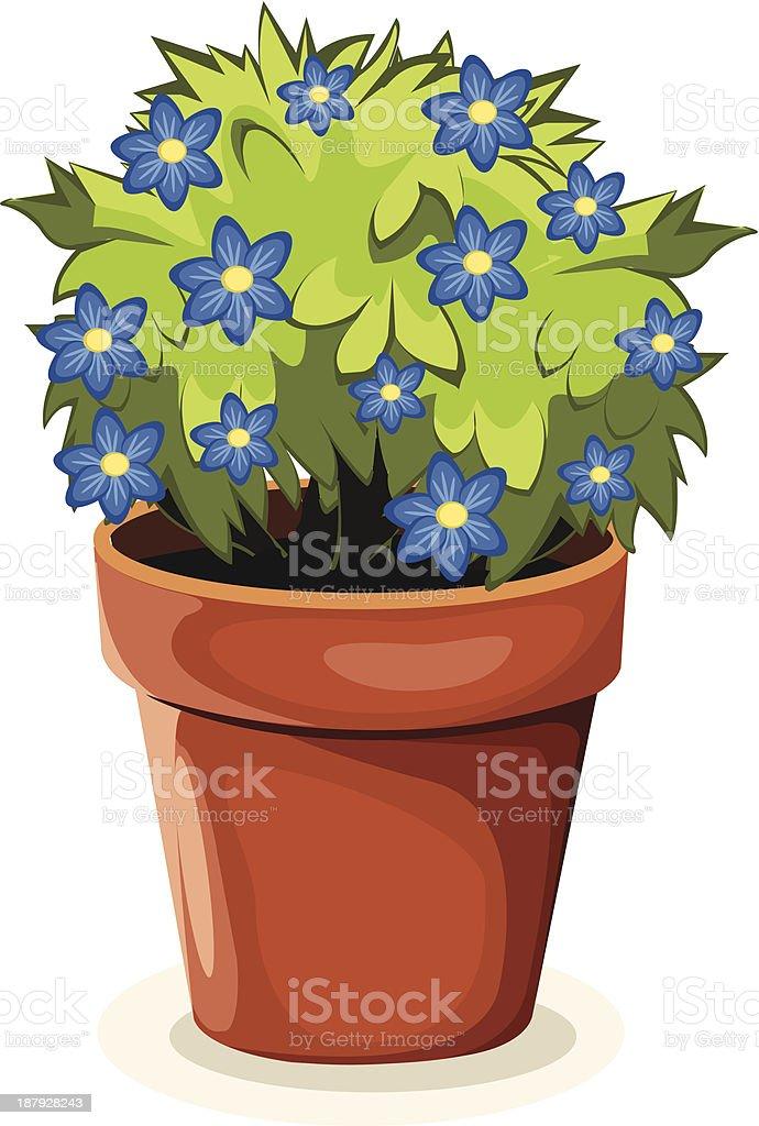 Flower royalty-free stock vector art