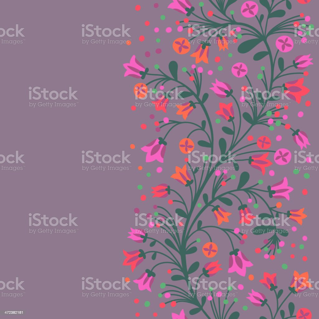 Flowering branches royalty-free stock vector art