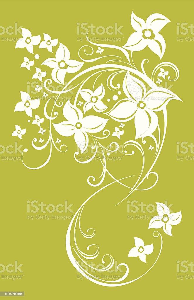 Flowers2 royalty-free stock vector art