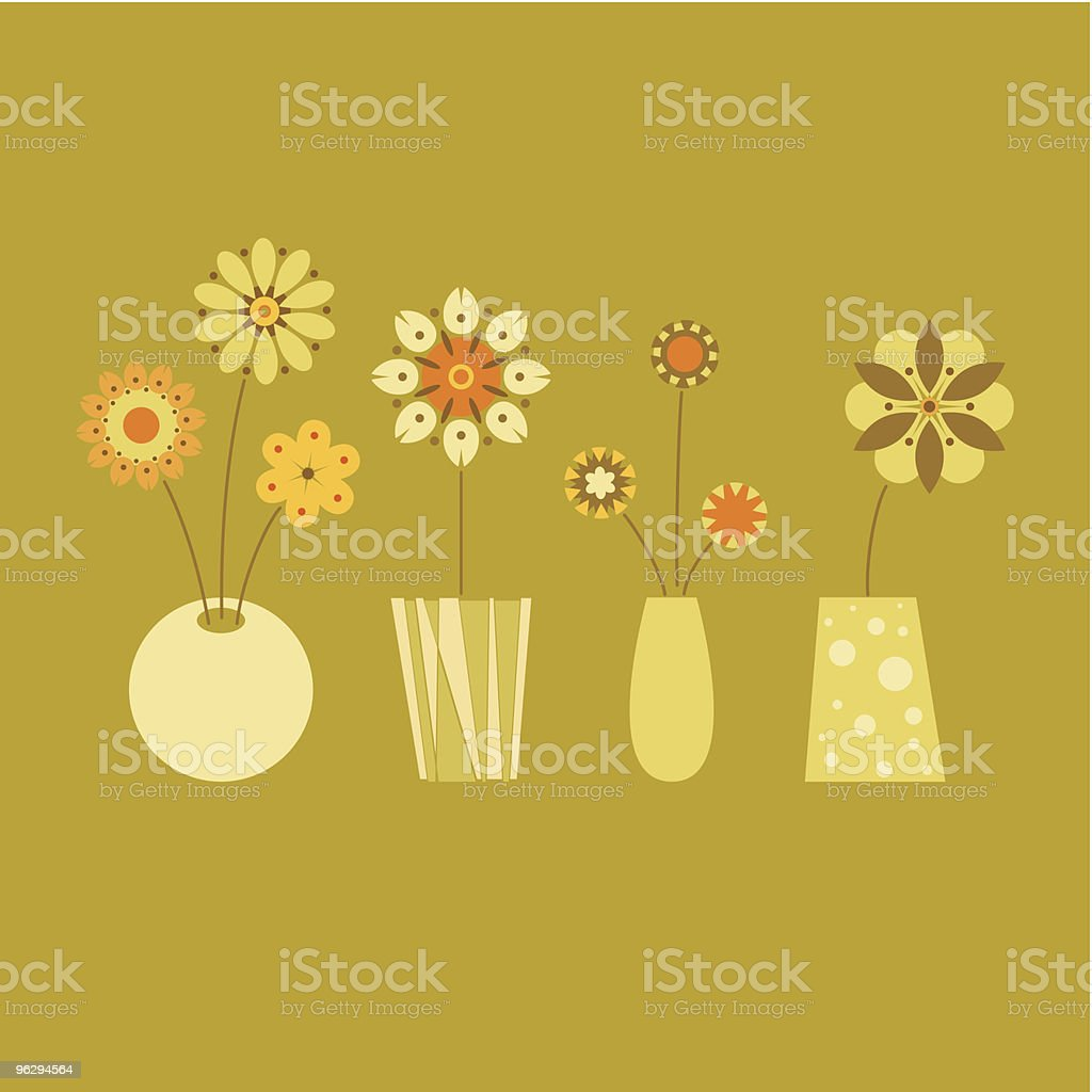 flowers_design vector art illustration