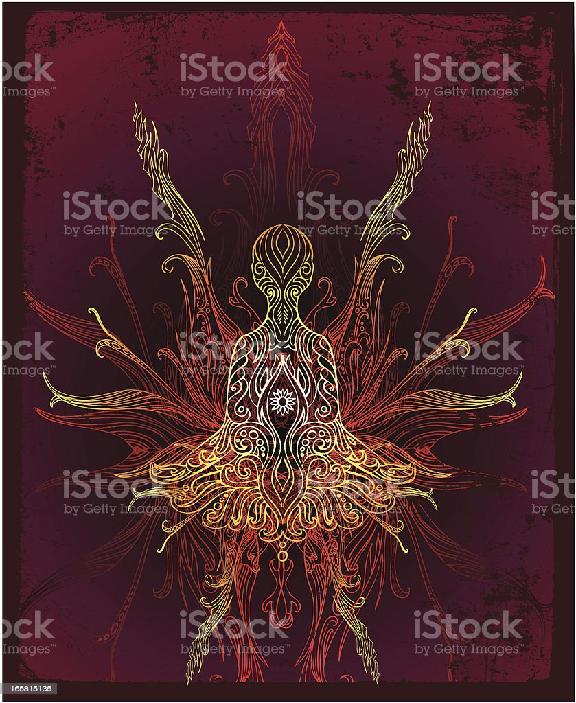 flowing energy royalty-free stock vector art