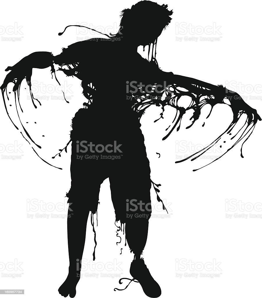 Floyd the Zombie! royalty-free stock vector art