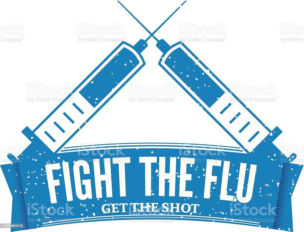 flu shot stamp clip art vector images illustrations istock rh istockphoto com funny flu shot clipart flu shot clinic clipart