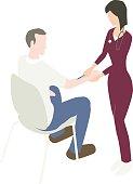 Flu Vaccine Illustration