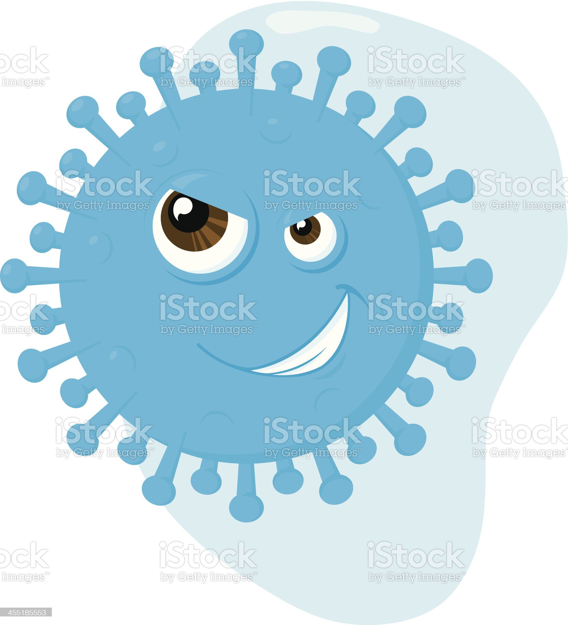 flu virus royalty-free stock vector art