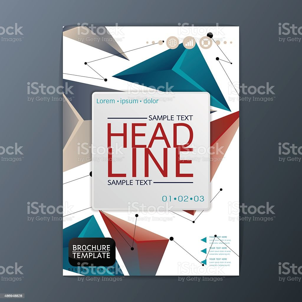flyer magazine brochure template abstract cover background a size flyer magazine brochure template abstract cover background a4 size vector royalty