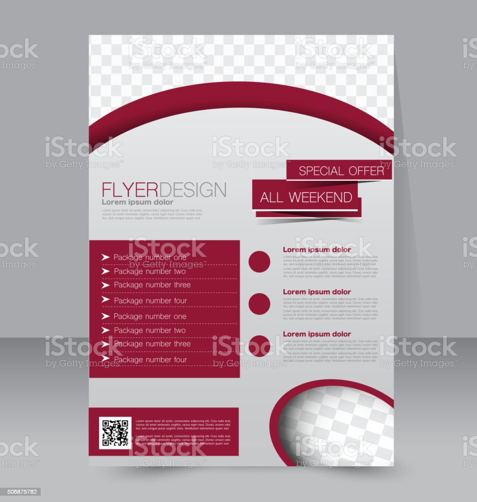 flyer template business brochure editable a poster stock vector flyer template business brochure editable a4 poster royalty stock vector art