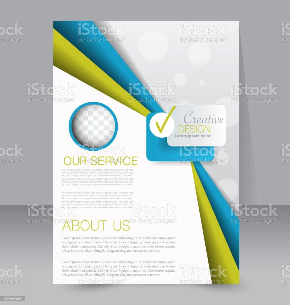 flyer template business brochure editable a poster stock vector flyer template business brochure editable a4 poster royalty stock vector art