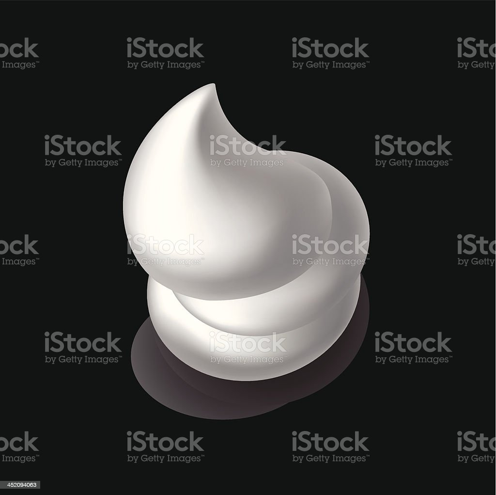 Foam royalty-free stock vector art