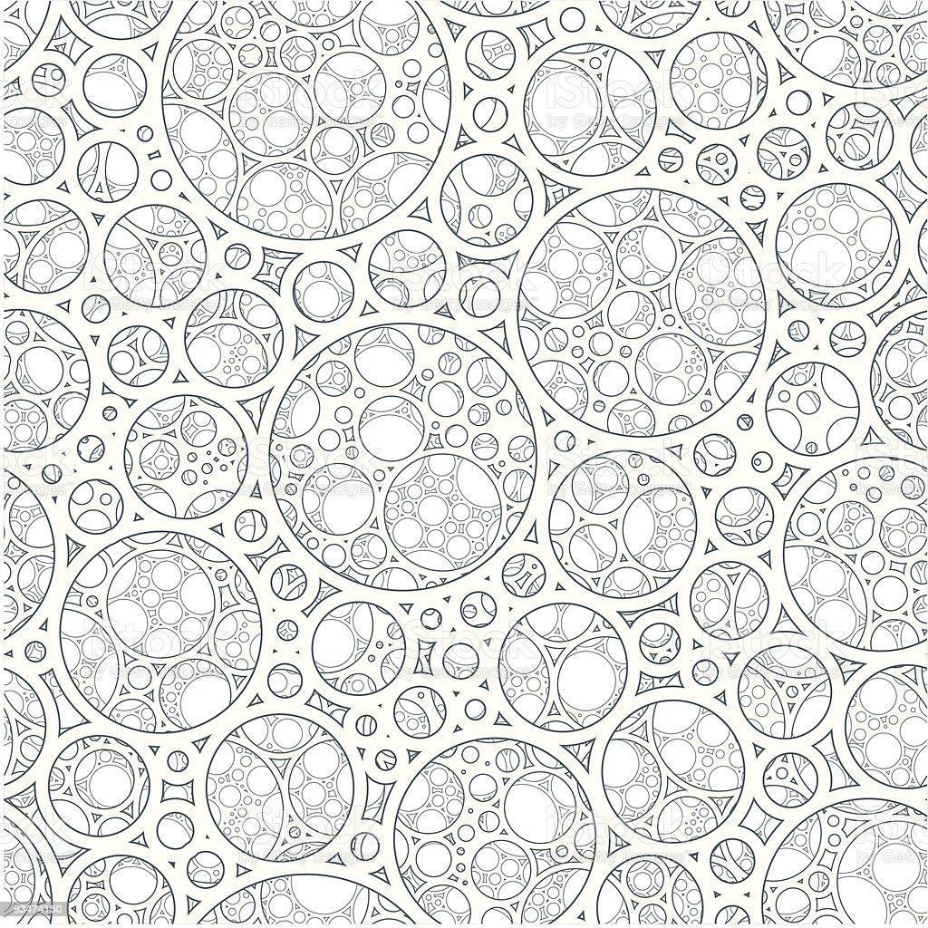 Foam vector art illustration