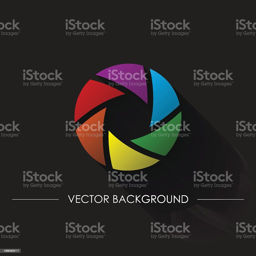 focus Abstract Background eps10 vector art illustration