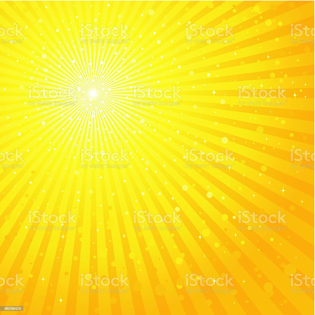 Focus_Background_Yellow royalty-free stock vector art