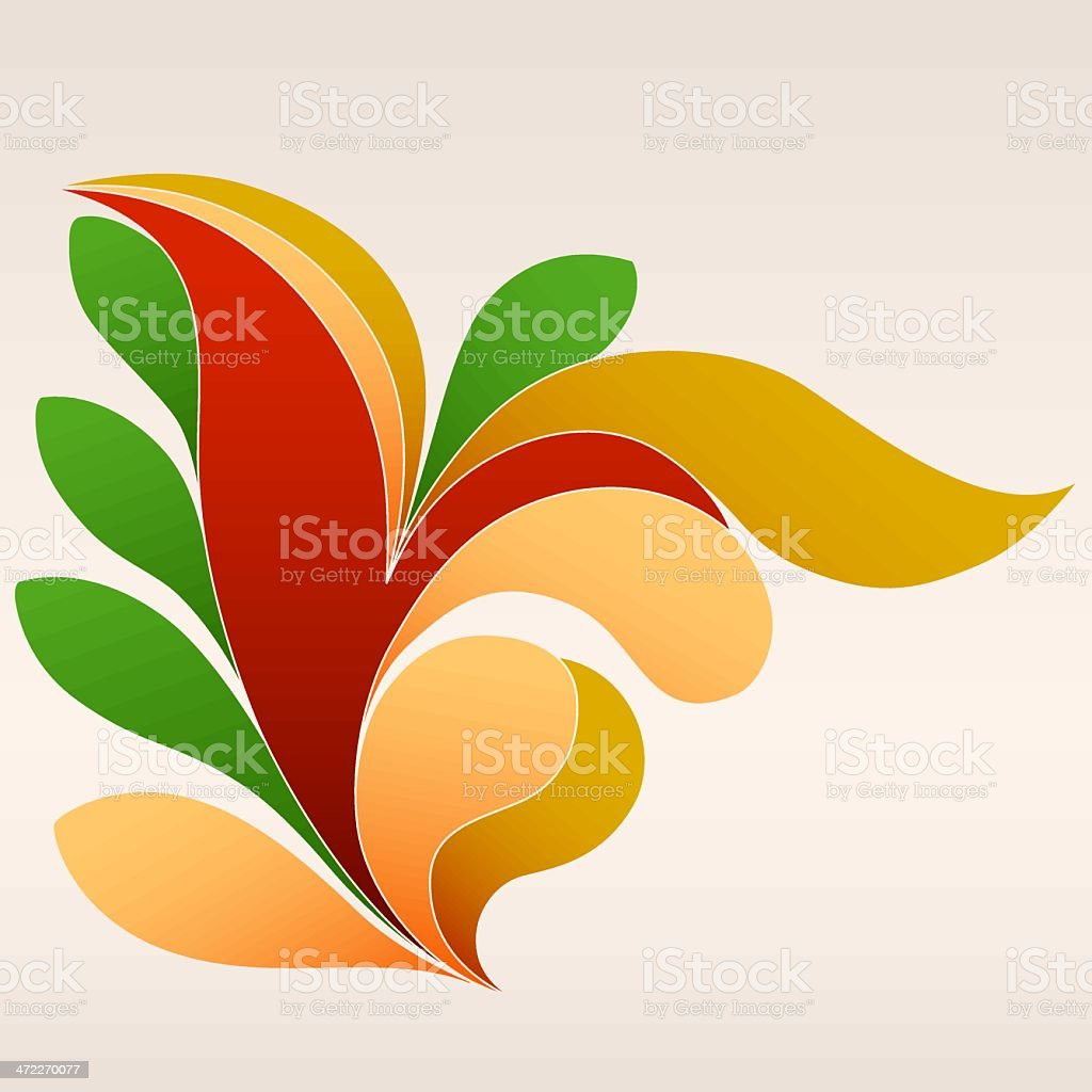 Foiling (vector) royalty-free stock vector art