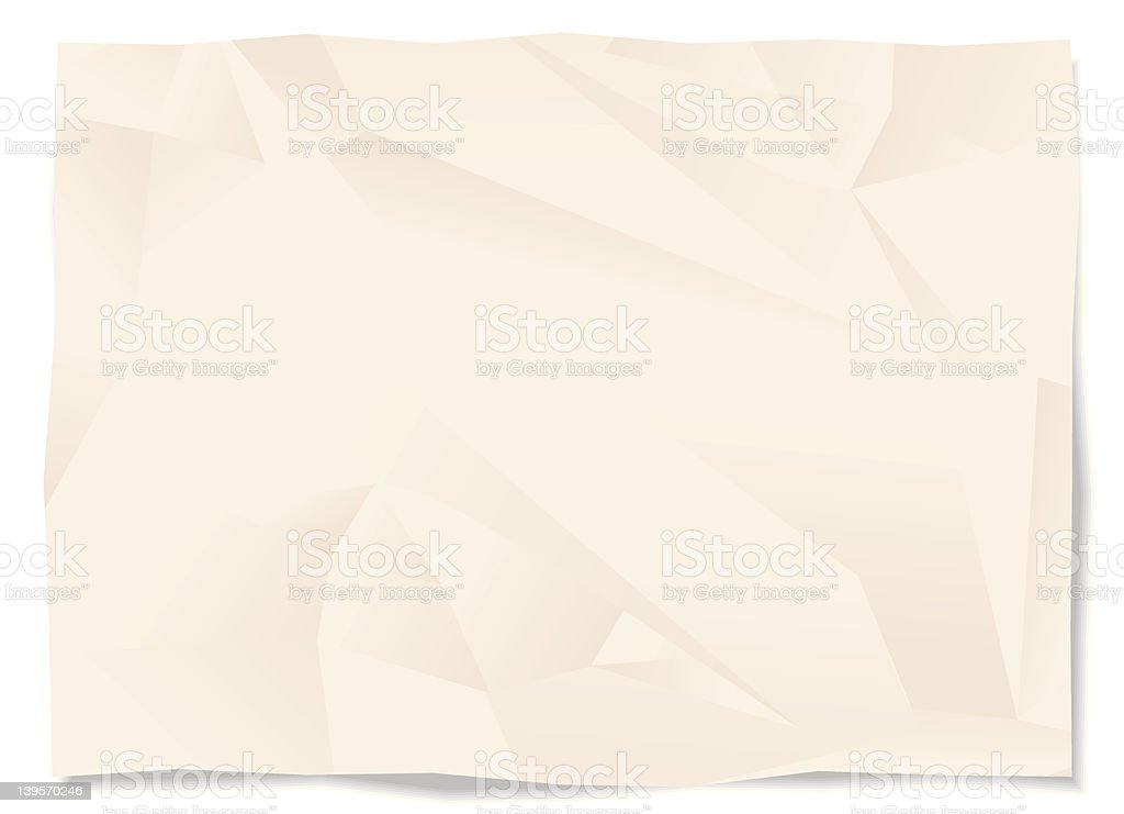 Folded paper background royalty-free stock vector art