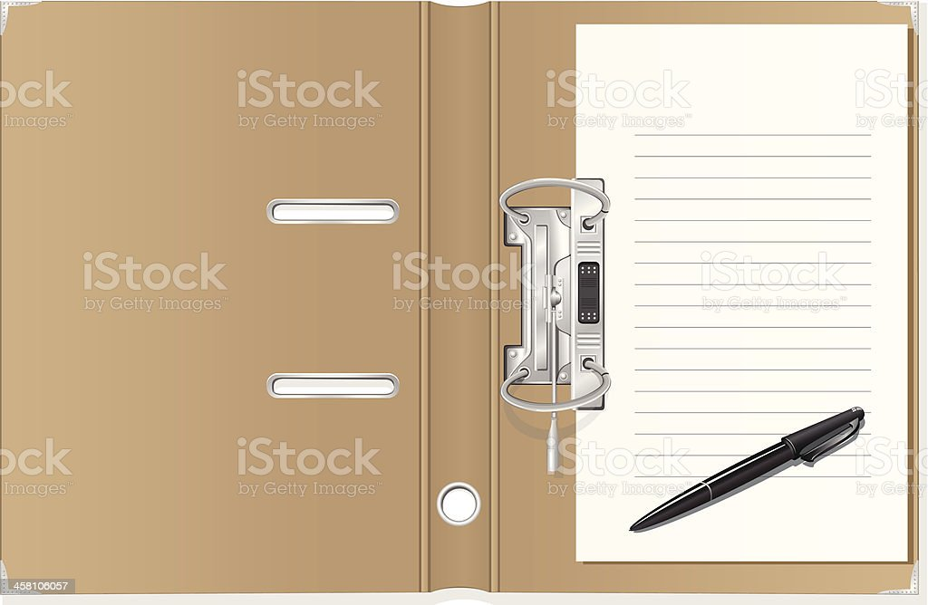 folder royalty-free stock vector art