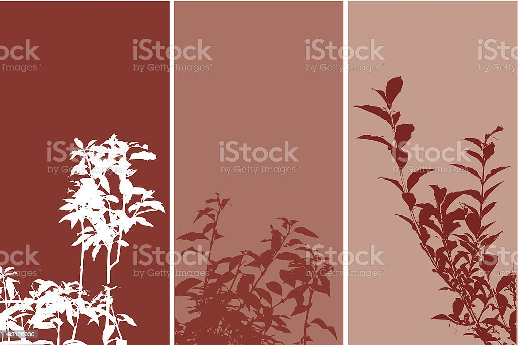 Foliage design - vector royalty-free stock vector art