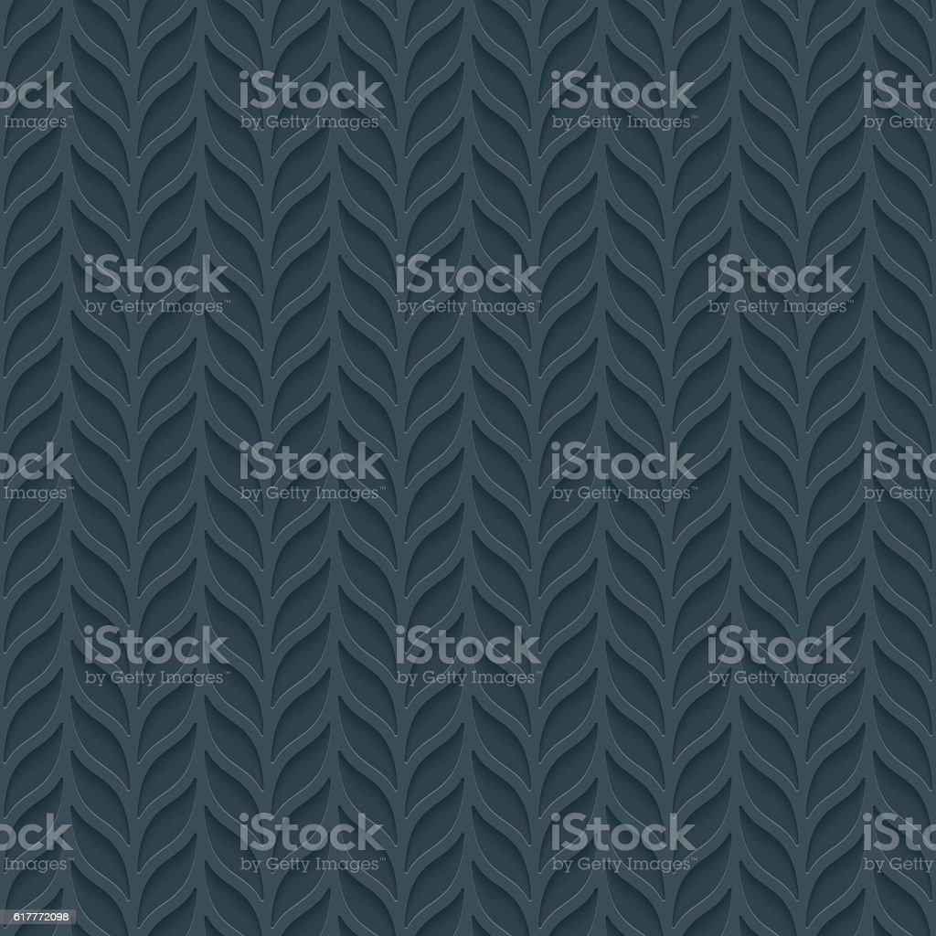 Foliage seamless background. vector art illustration