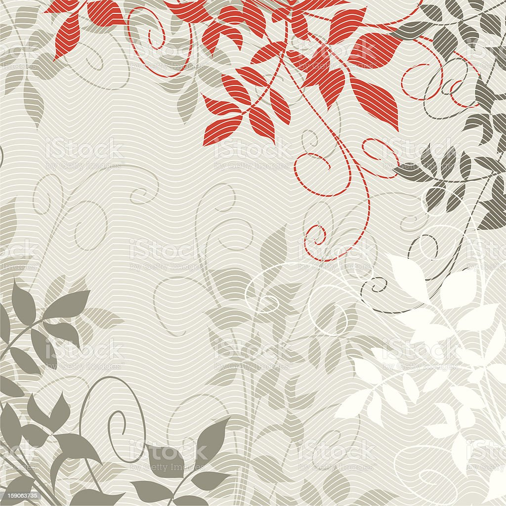 Foliage royalty-free stock vector art