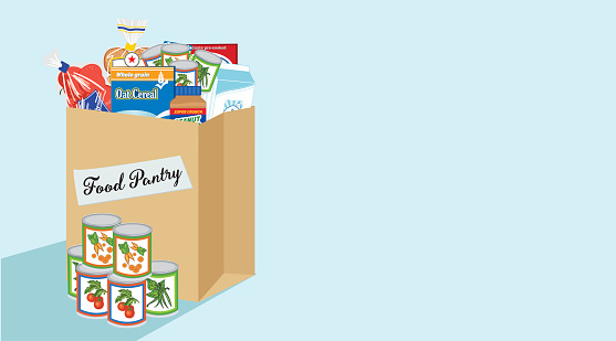 Canned Food Images Clip Art, Vector Images & Illustrations