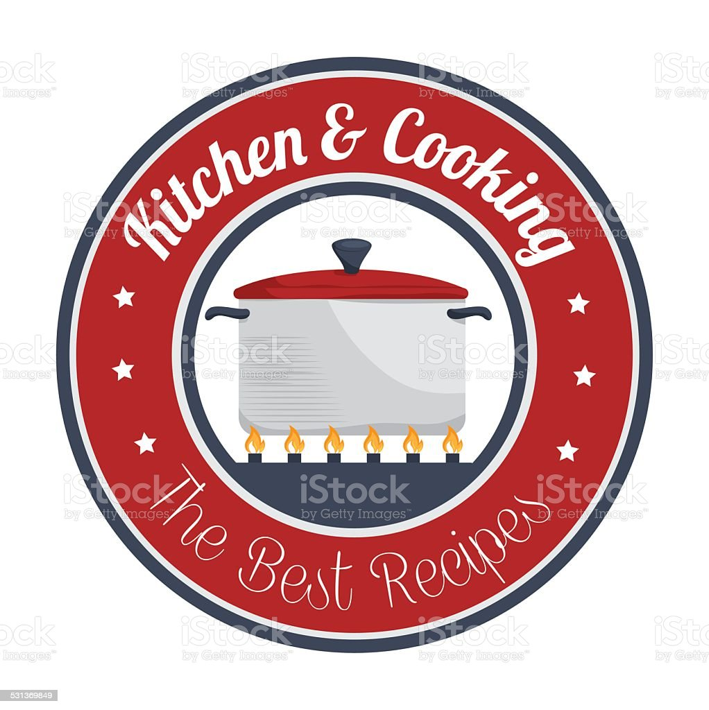 Food design, vector illustration. vector art illustration