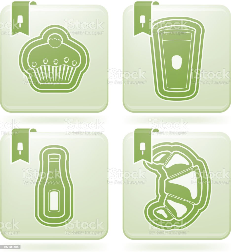 Food & drinks royalty-free stock vector art