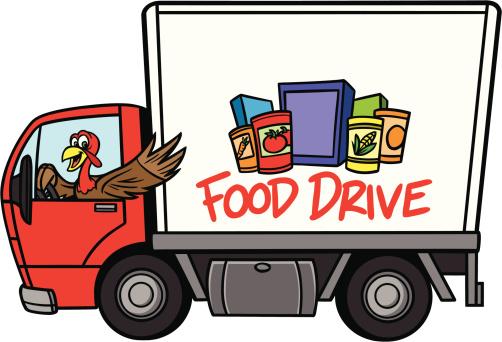 Thanksgiving Food Drive Clip Art