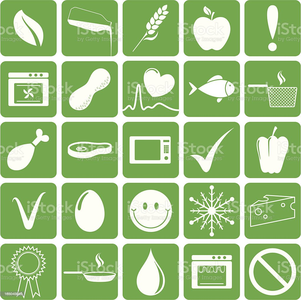 Food Facts - incl. jpeg vector art illustration