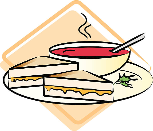 Toasted Cheese Sandwich Clip Art, Vector Images & Illustrations ...