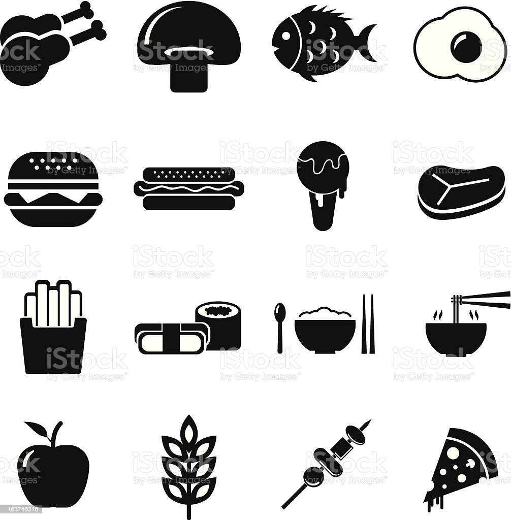Food Icon royalty-free stock vector art