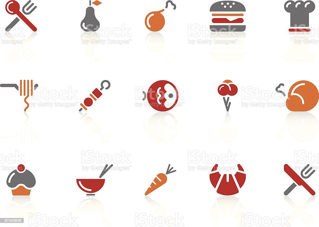 Food icons | Alto series vector art illustration