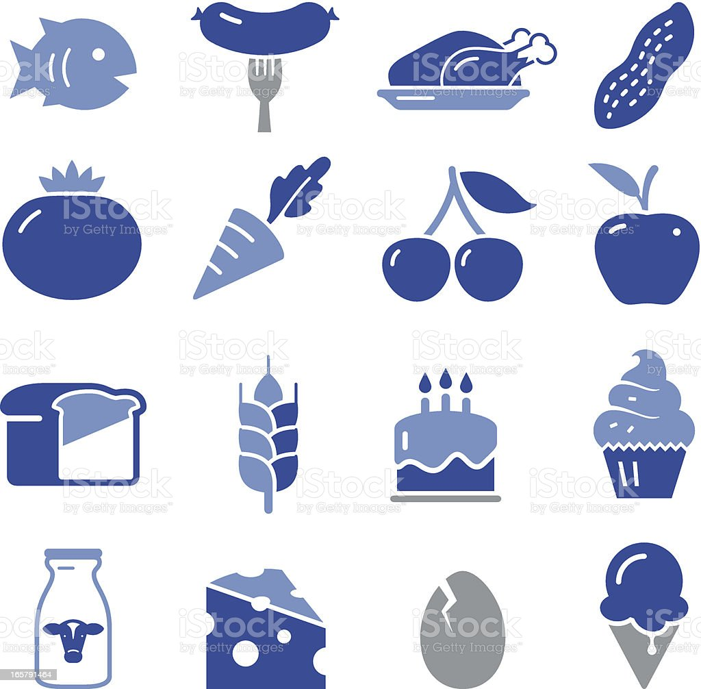 Food Icons - Pro Series vector art illustration