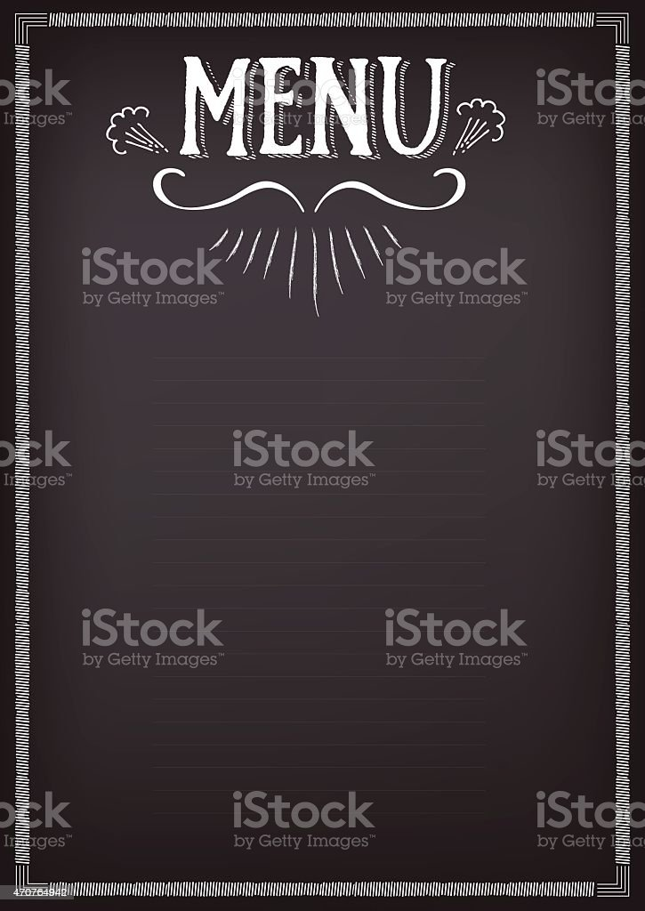 Menu Clip Art Vector Images  Illustrations  Istock