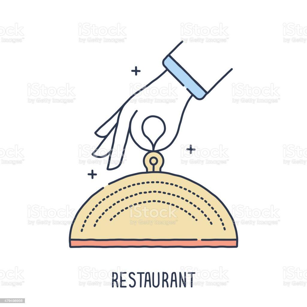 Food Plate Symbol vector art illustration