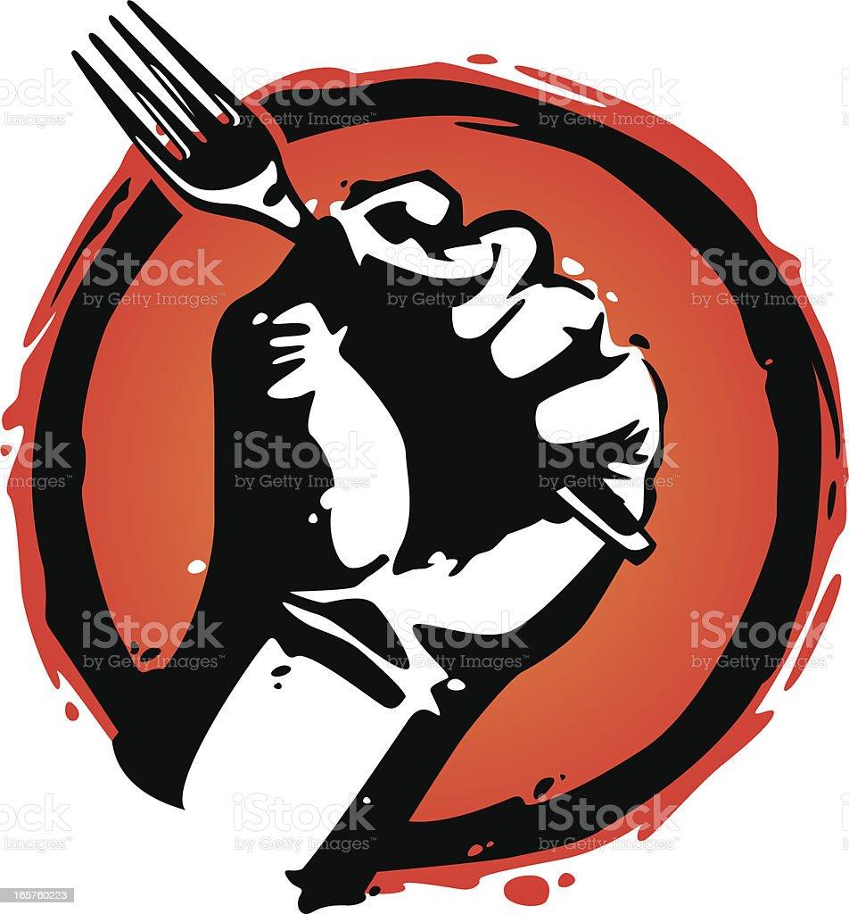 food revolution royalty-free stock vector art