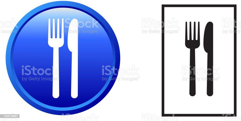 food sign, eat, knife, fork, royalty free vector art royalty-free stock vector art