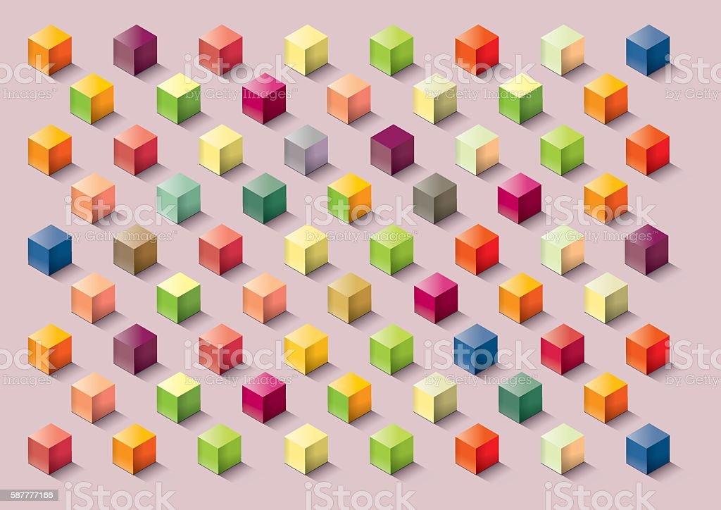 Food textures vector art illustration