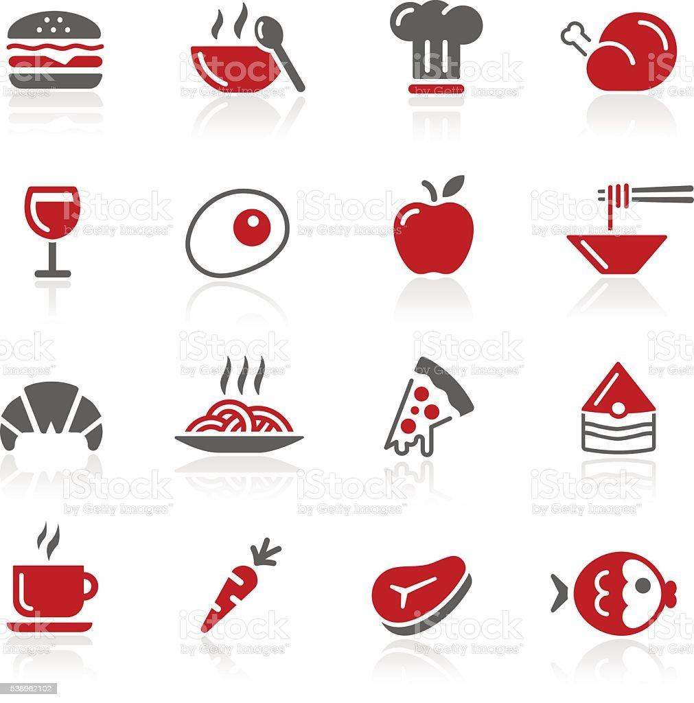 Food Vector Icon Set 1 // Redico Series vector art illustration