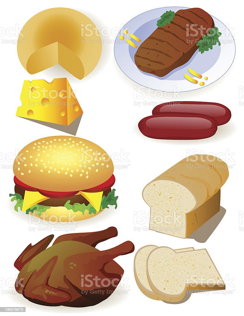 Food royalty-free stock vector art