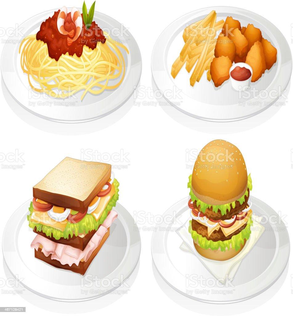 Food royalty-free stock vector art