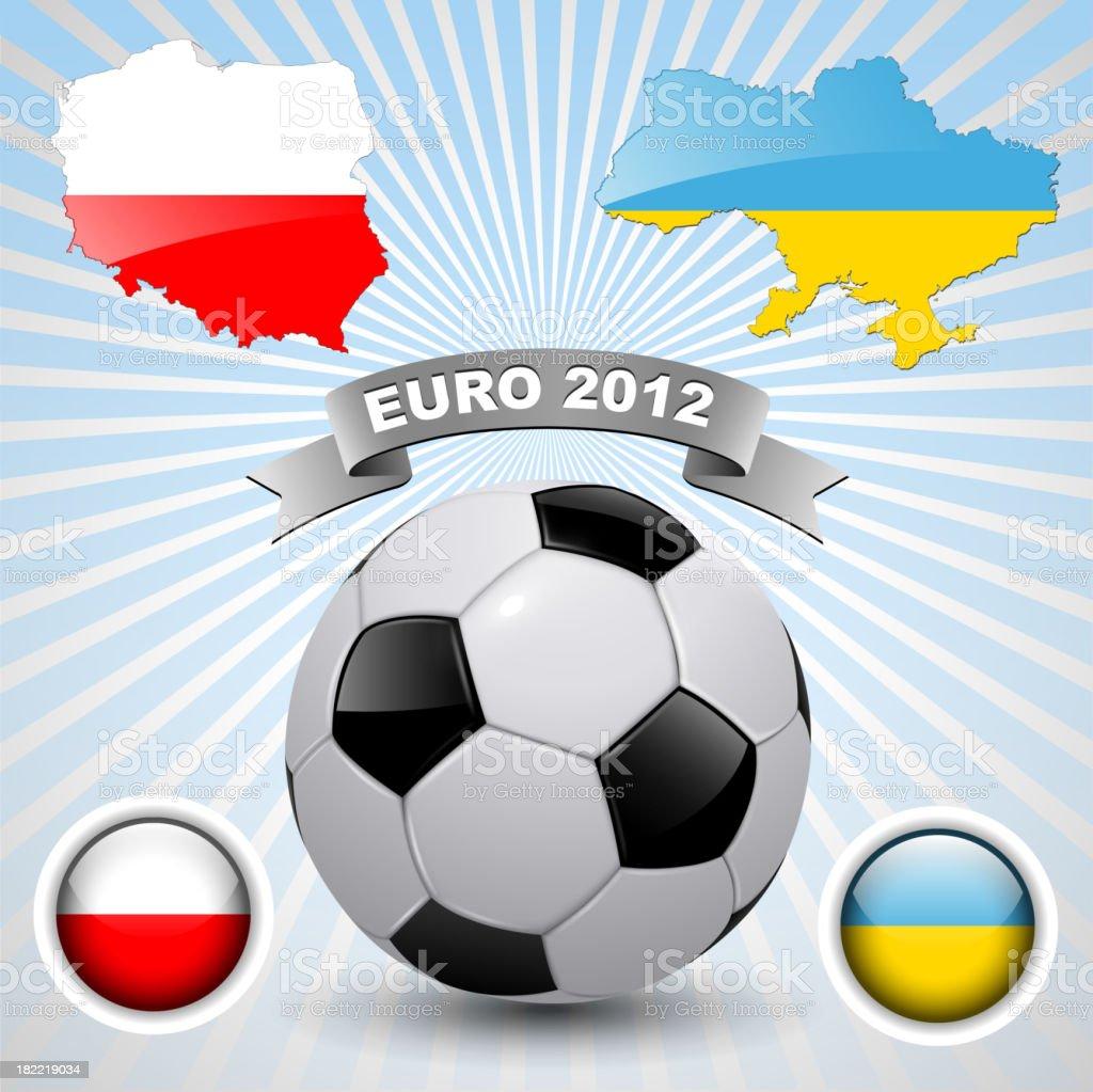 football 2012 royalty-free stock vector art