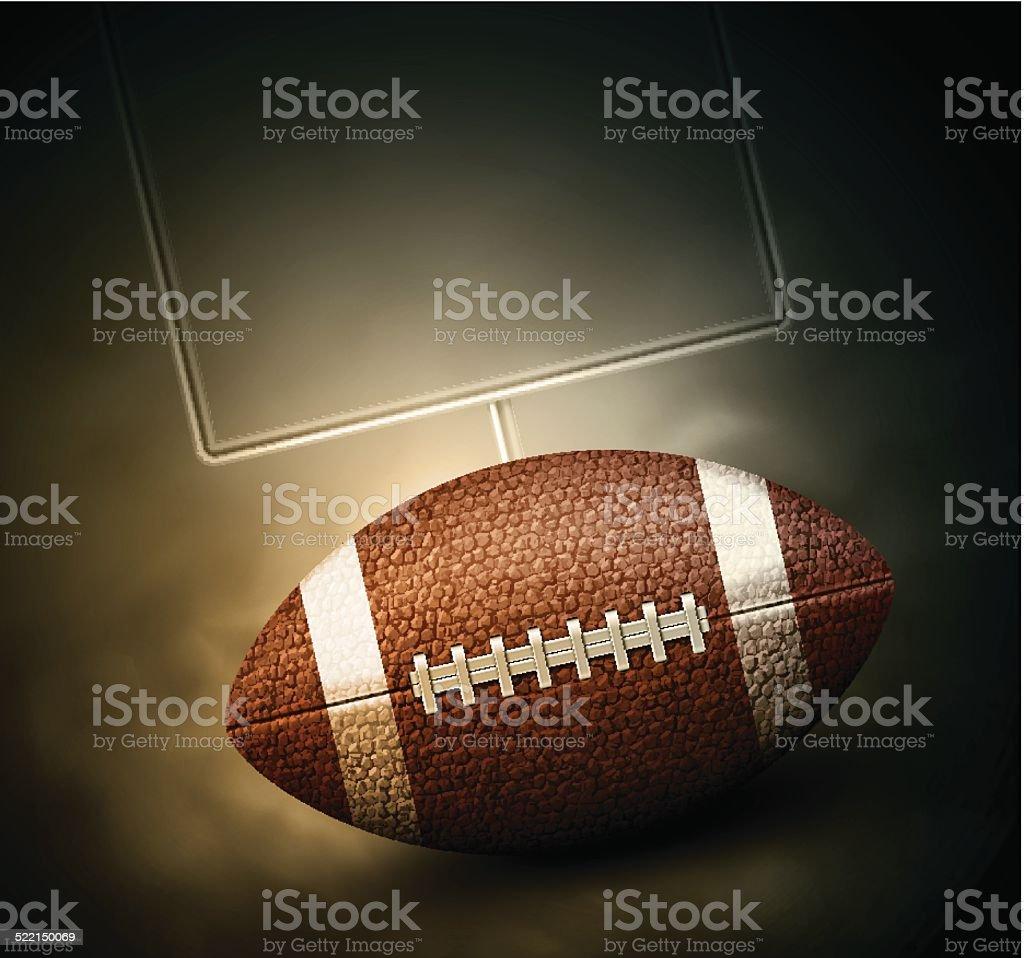 Football Background' vector art illustration