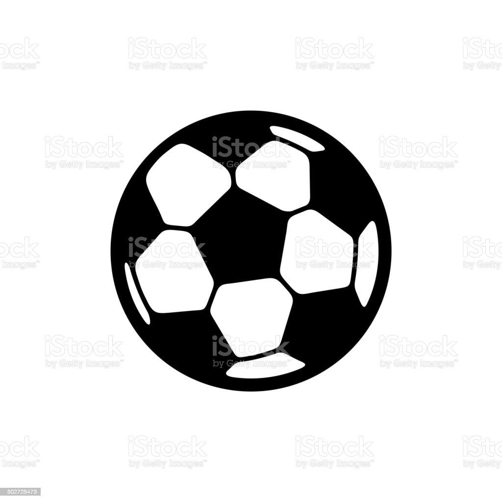 Football Ball Icon royalty-free stock vector art