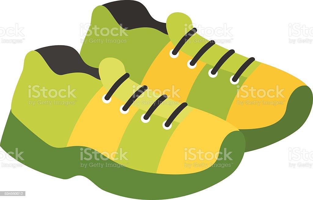 Football boots vector illustration. vector art illustration