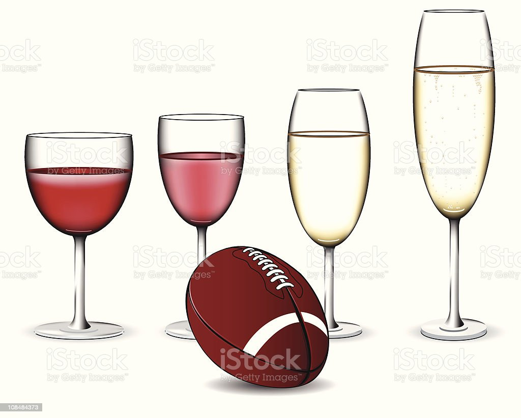 Football celebration royalty-free stock vector art