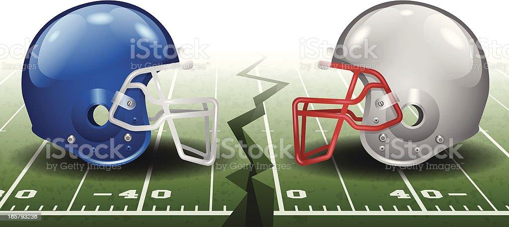 Football Competition vector art illustration