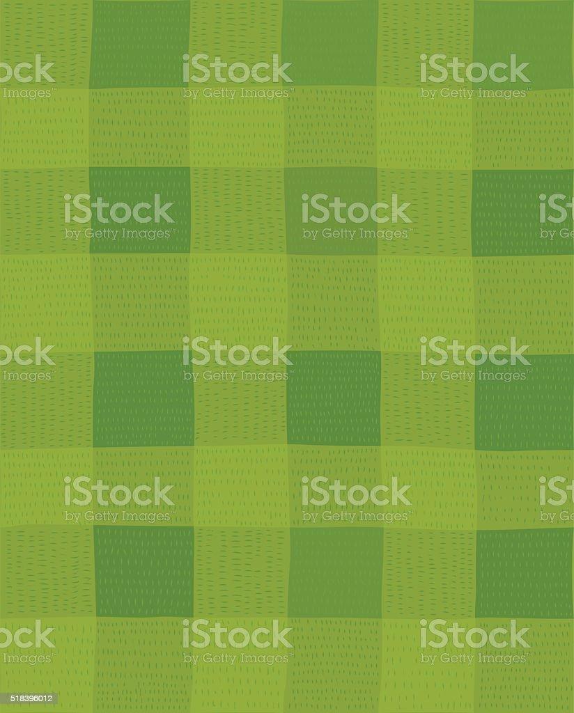 Football field seamless pattern vector art illustration